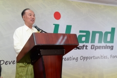 Welcome speech by CEO of i-Land Park, Mr Ivan Tam