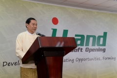 Speech by Guest of Honour Prof. Dr. Myo Nyunt (Partner)